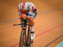 Victor Campenaerts in pista © Lotto Soudal