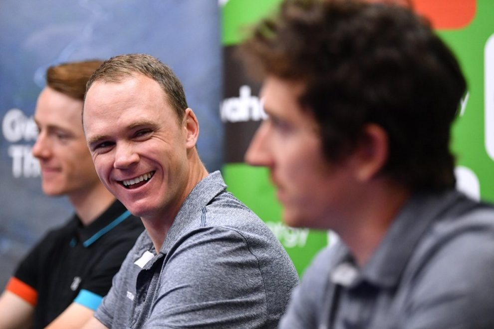 Chris Froome © Team Sky