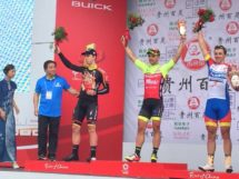 Jakub Mareczko vince l'ultima tappa del Tour of China II © Wilier-Selle Italia