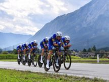 Il sestetto vincente in azione © Quick-Step Floors