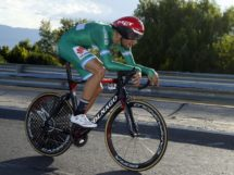 Filippo Ganna impegnato a cronometro © Bettiniphoto - Roberto Bettini