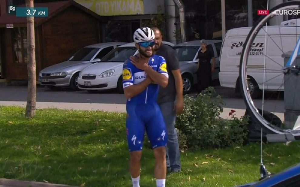 Fernando Gaviria infortunato in Turchia © Twitter