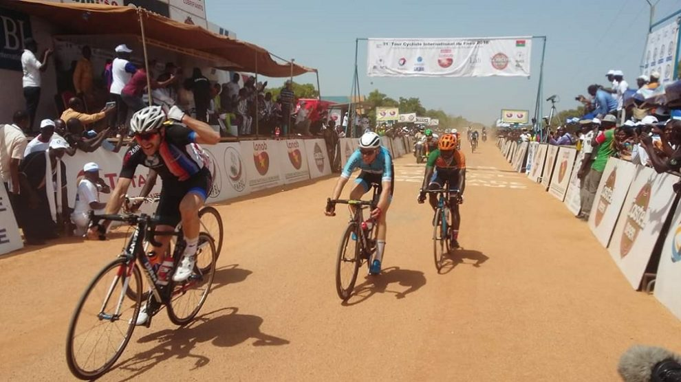 Florian Smits vince in Burkina Faso © Twitter - Radio Omega