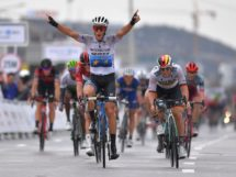 Matteo Trentin conquista la quinta tappa del Tour of Guangxi © Bettiniphoto - Luca Bettini