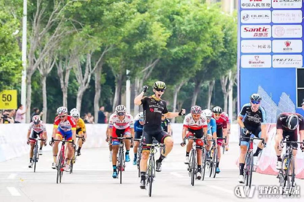 Kaden Groves vince al Tour of Fuzhou © WildTo Media