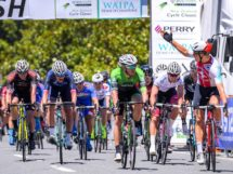 Stefan Bissegger esulta a Lake Karapiro © New Zealand Cycle Classic