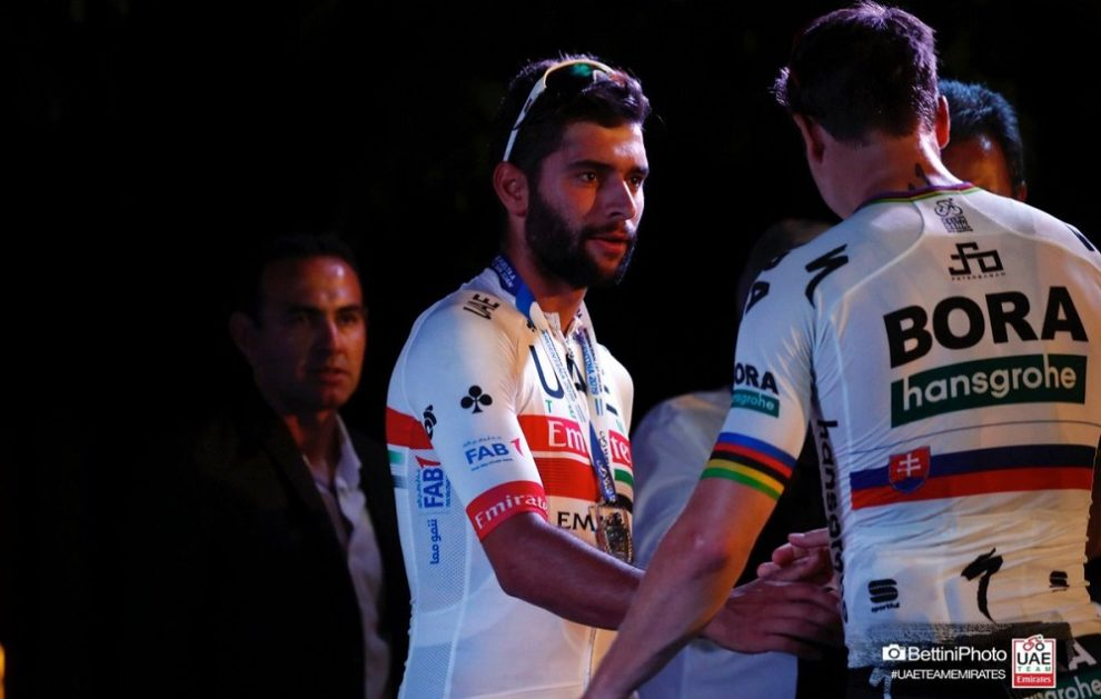 Fernando Gaviria vince all'esordio con la UAE © Bettiniphoto