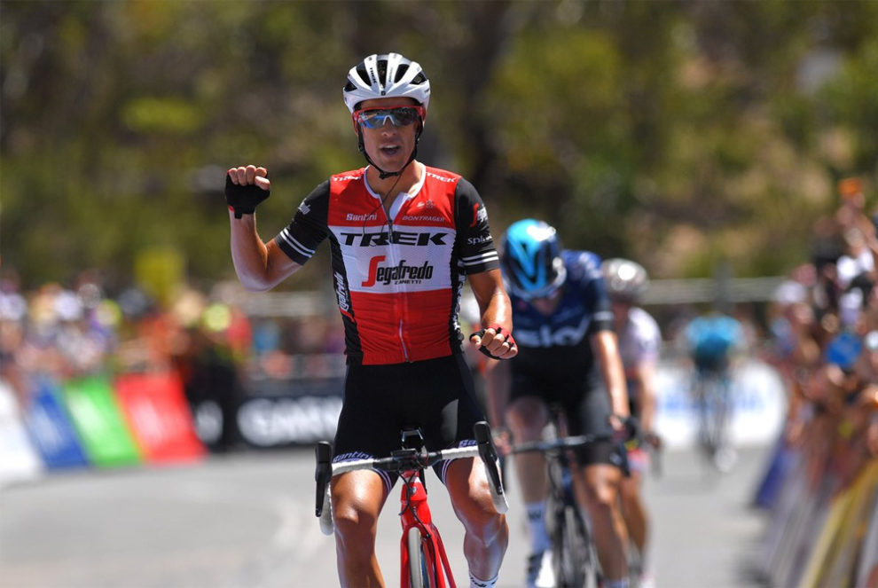 Sesto successo di fila per Richie Porte a Willunga Hill! © Trek-Segafredo - Getty Sport