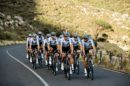 I corridori del Team Dimension Data in allenamento © Team Dimension Data