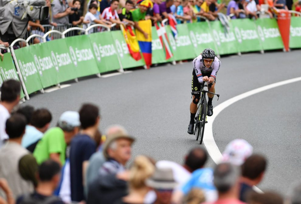 Daryl Impey impegnato a cronometro © Getty Images