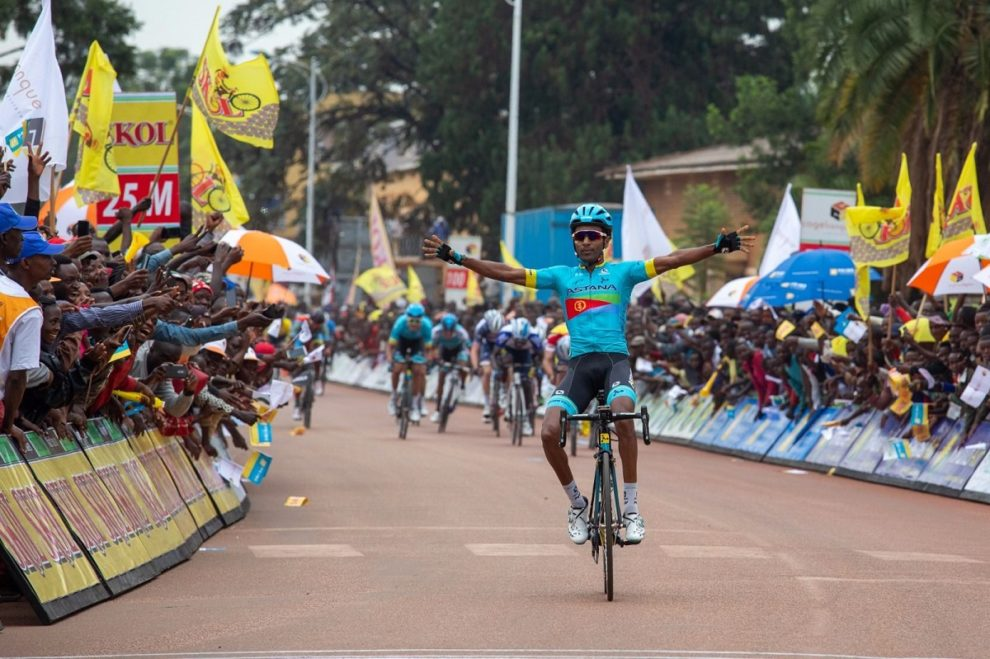 First victory for Astana for Merhawi Kudus © Tour du Rwanda