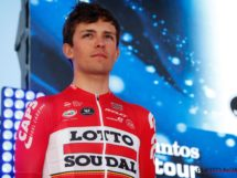 James Shaw in maglia Lotto Soudal © Photonews
