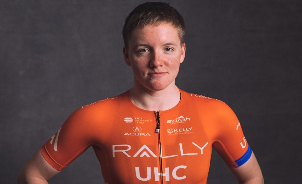 Kelly Catlin © Rally UHC Cycling