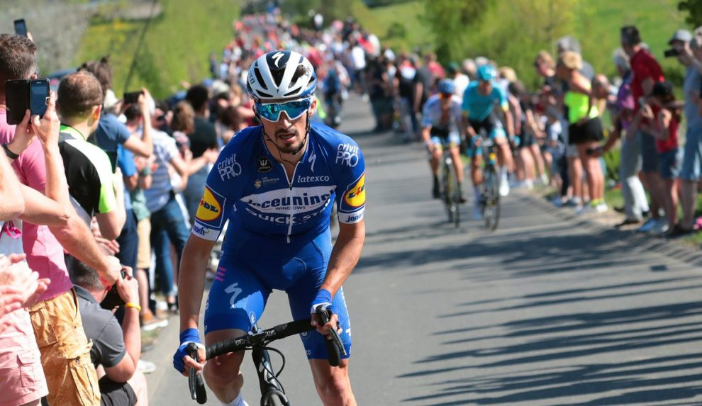 Julian Alaphilippe in azione all'Amstel Gold Race © Getty Images