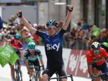 Tao Geoghegan Hart conquista la quarta tappa del Tour of the Alps © Pentaphoto