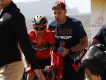 Domenico Pozzovivo al Tour of Oman © Bettiniphoto