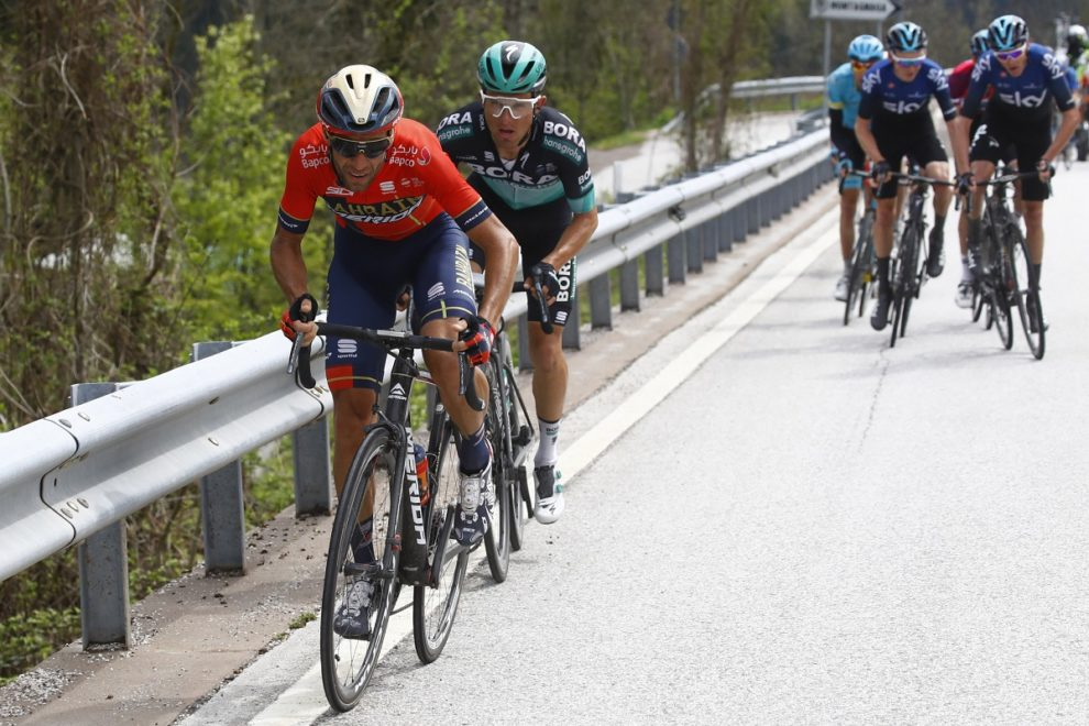 Vincenzo Nibali all'attacco al Tour of the Alps © Bettiniphoto - Luca Bettini