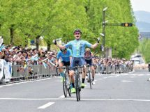 Ayden Toovey conquista la seconda tappa al Tour of Japan © Tour of Japan