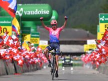 Hugh Carthy vince l'ultima tappa al Tour de Suisse © Getty Images
