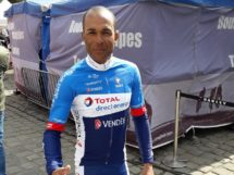 Yohann Gène prima del via alla Paris-Roubaix © Total Direct Énergie