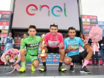 Il podio finale del Giro d'Italia Under 23 © IsolaPress