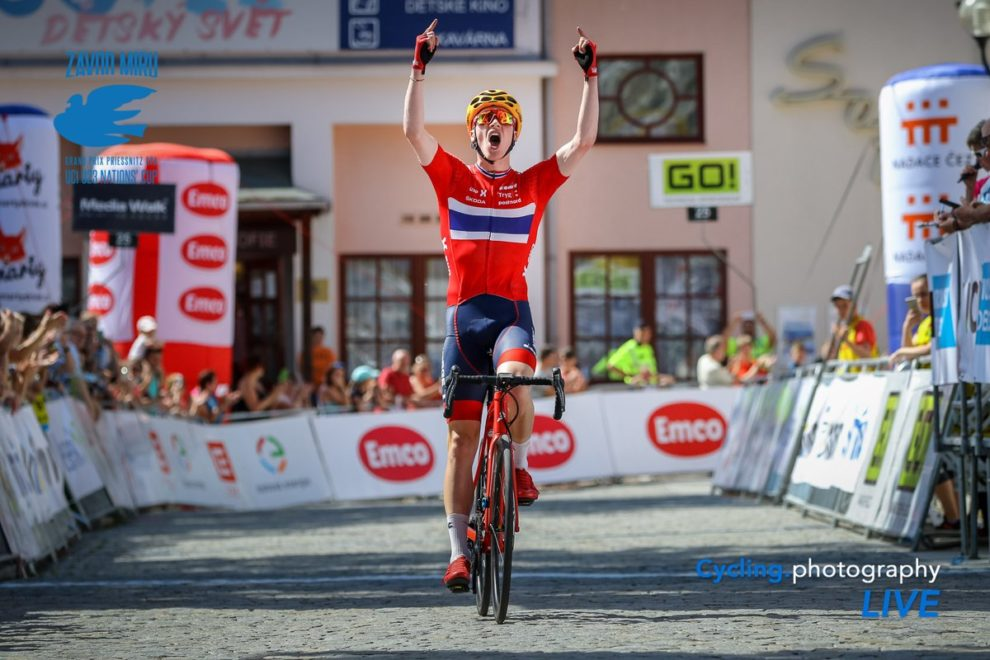 Andreas Leknessund ribalta all'ultimo il GP Priessnitz © Cycling Photography