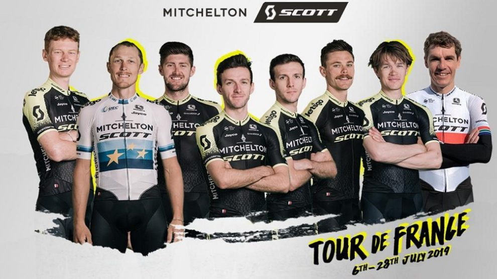 La Mitchelton-Scott per il Tour de France