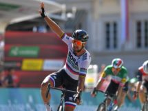 Peter Sagan prende tappa e maglia al Tour de Suisse © Getty Images