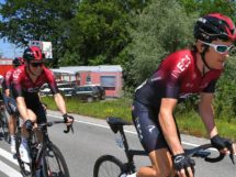 Geraint Thomas al Tour de Suisse © Team Ineos