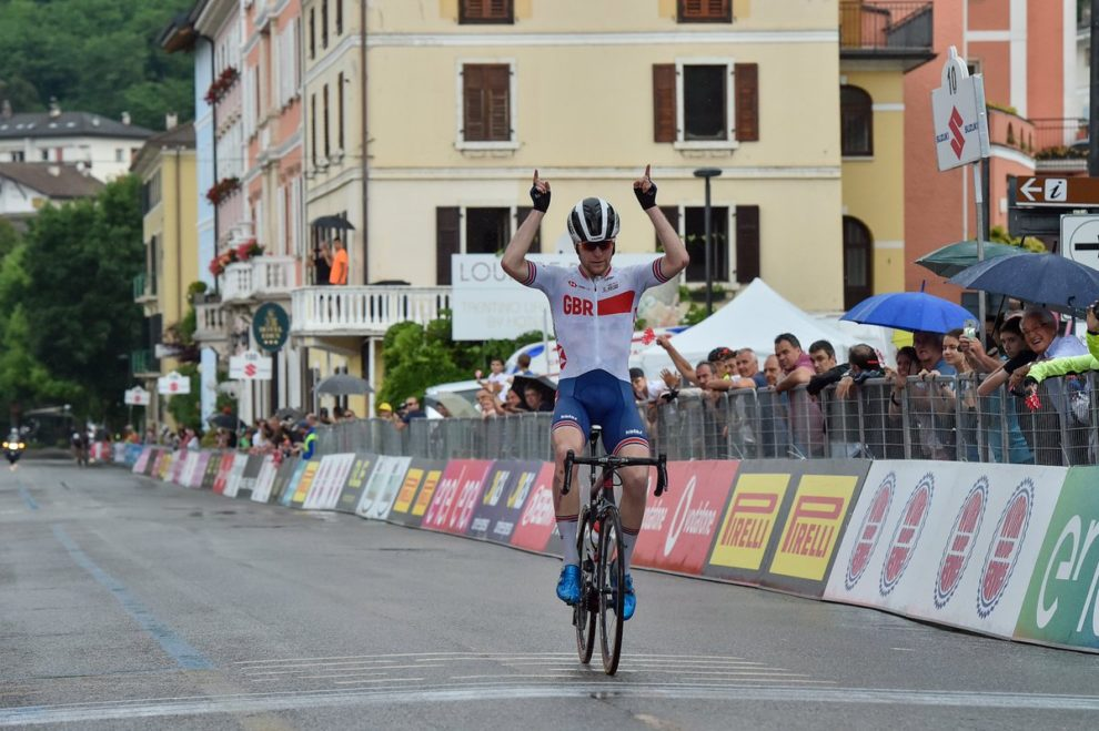 Fred Wright vince a Levico Terme © IsolaPress