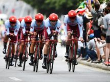 Il Team Katusha-Alpecin al Tour de France © ASO