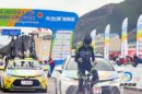 Esultanza all'arrivo per Molenaar © Tour of Qinghai Lake