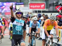 Bryan Coquard batte Mathieu van der Poel all'Arctic Race of Norway © ARN - Gautier Demouveaux