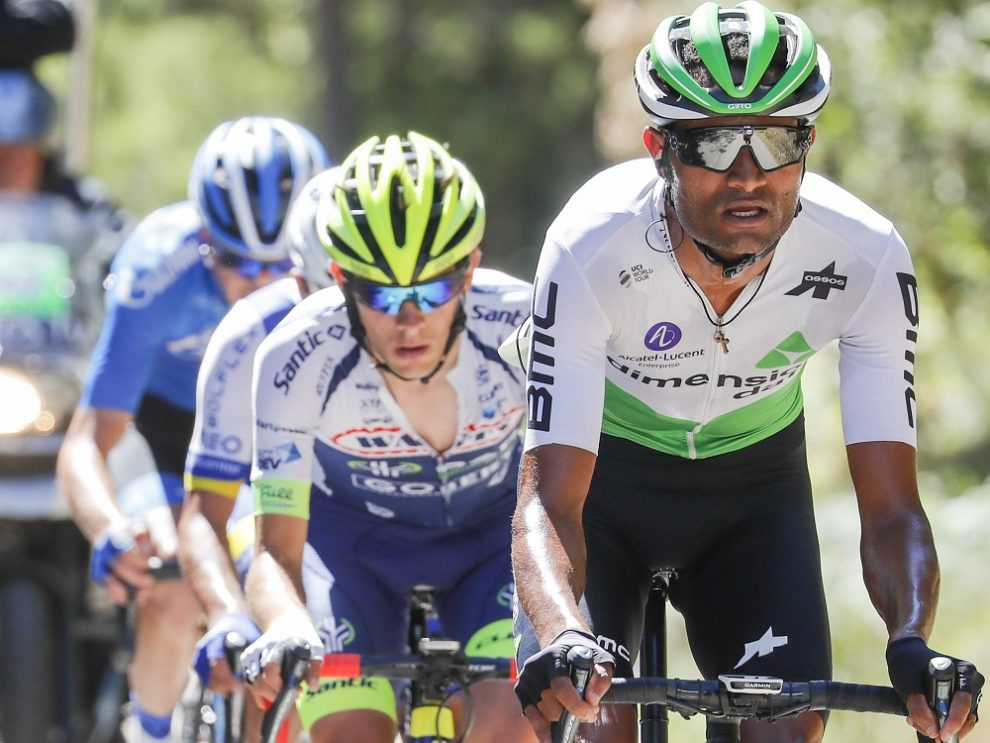 Amanuel Gebreigzabhier all'attacco © Team Dimension Data
