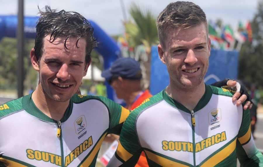 Ryan Gibbons e Kent Main © Team South Africa
