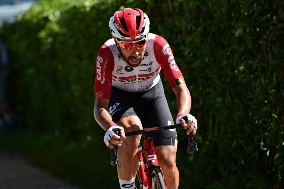 Thomas De Gendt in fuga al Tour de France © ASO - Alex Broadway