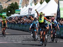 Umberto Marengo vince al Tour of Utah © Meter Group