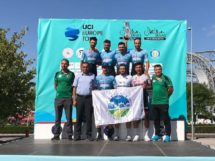 La Salcano Sakarya su podio al Tour of Central Anatolia © Facebook