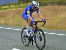 Rémi Cavagna in fuga verso Toledo alla Vuelta © Getty Images
