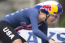 Chloe Dygert impegnata a cronometro © USA Cycling