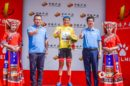 Artem Ovechkin sul podio al Tour of China I © Tour of China