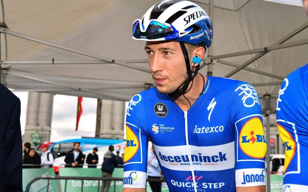 Jannik Steimle in maglia Deceuninck-QuickStep © Getty Images
