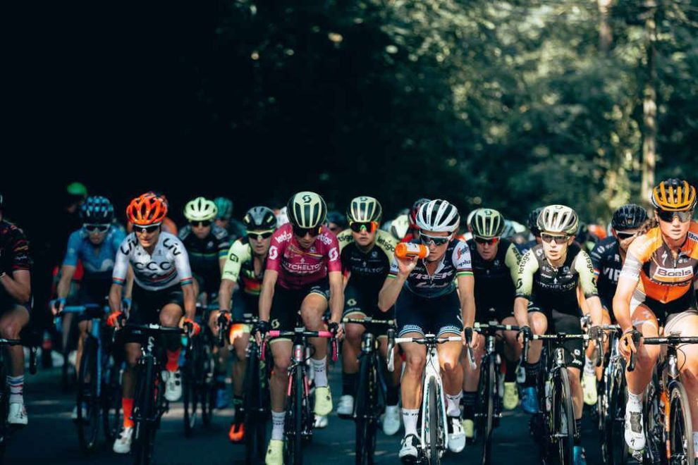 Il gruppo a La Course by Le Tour de France © ASO - Thomas Maheux