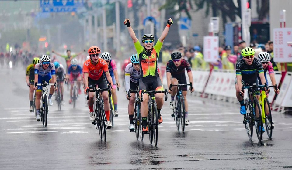 Chloe Hosking vince il Tour of Guangxi 2019 © Alé Cycling