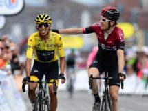 Egan Bernal e Geraint Thomas concludono il Tour de France 2019 © ASO - Alex Broadway
