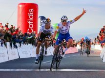 Remco Evenepoel conquista il successo all'Alto da Fóia © Bettiniphoto