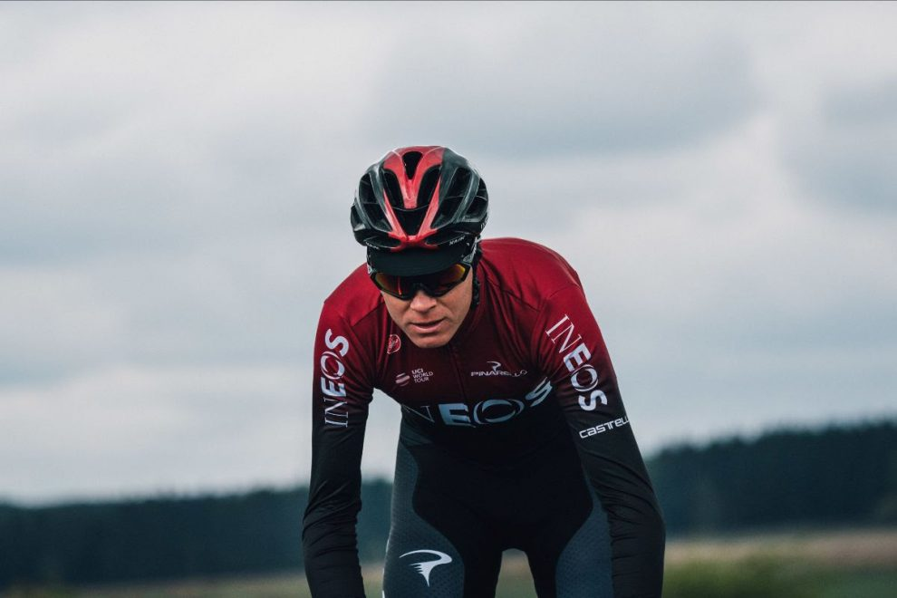 Chris Froome in maglia Team Ineos © Team Ineos