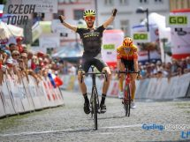 Damien Howson vince il Czech Tour 2020 © Cycling.Photography
