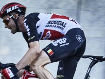 Tim Wellens in azione © Lotto Soudal