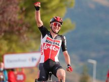 Tim Wellens vince alla Vuelta © Photo Gómez Sport